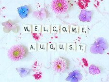 A is for #August