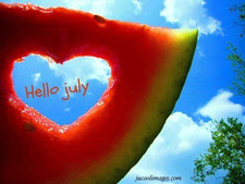 J is for #July