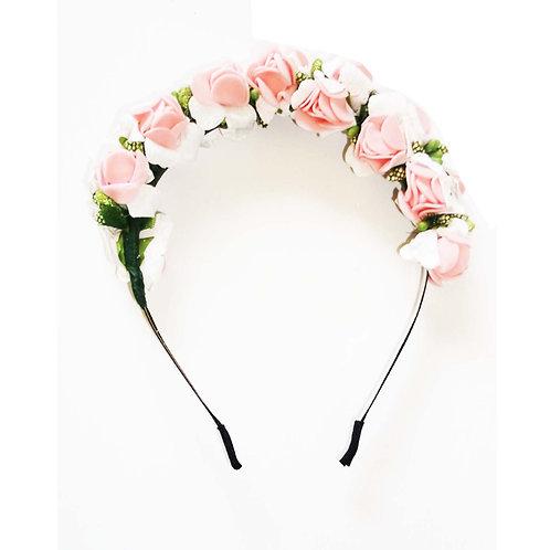 Pretty Pastel Floral Headband