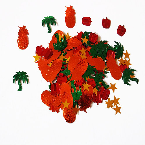 Tropical Party Sequin Confetti