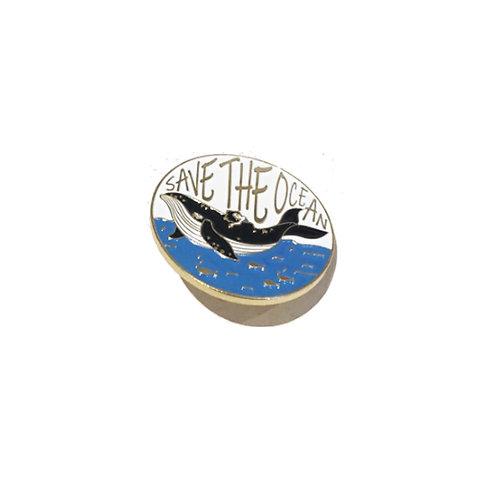 Save the Ocean Pin Badge