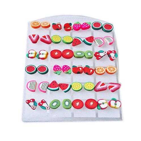 Feeling Fruity Stud Earrings - Variety