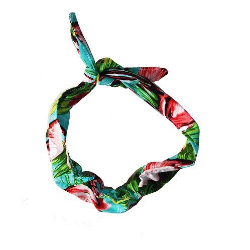 Children's Retro Hair Bow / Wrap