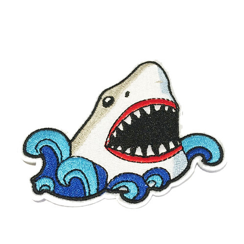 Jaws Iron on Patch