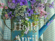 A is for #April