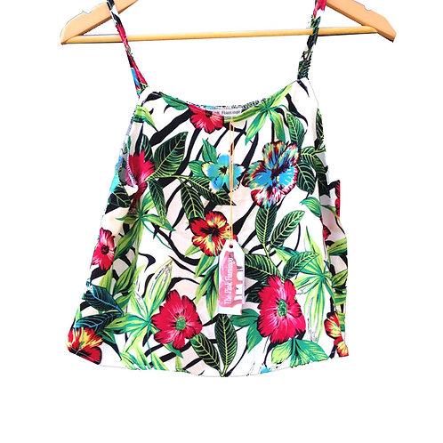 Jungle Leaf Print Camisole