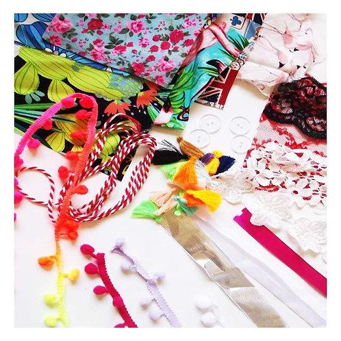 Mixed Bundle of Craft Trims