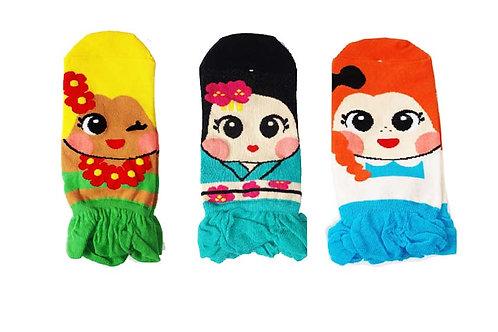 Cute Novelty Girl Socks