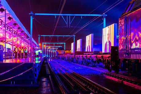 Jean-Jacques Marotte lighting design for Infrabel - tunnel opening