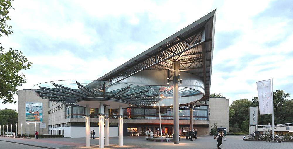 Stadthalle Braunschweig / Quelle:https://stadthalle-braunschweig.de/de/media.html /  Foto: Daniela Nielsen