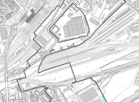 Riesiges Areal hinter dem Bahnhof wird entwickelt