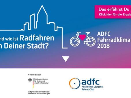 Fahrradklima-Test: Braunschweig weit vorne auf Platz 4 bundesweit