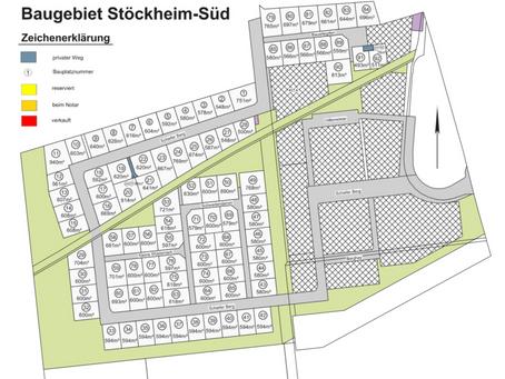 Vergabe der Grundstücke Stöckheim-Süd ist gestartet