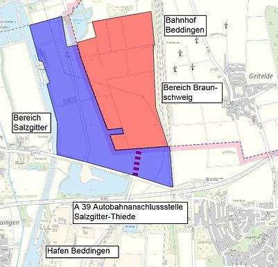 Neues Gewerbegebiet zwischen Salzgitter und Braunschweig