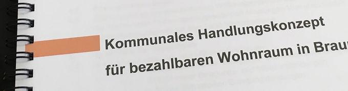 Stellungnahme zum Handlungskonzept für bezahlbares Wohnen in Braunschweig