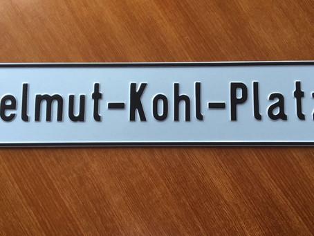 CDU möchte Helmut – Kohl -Platz in Braunschweig