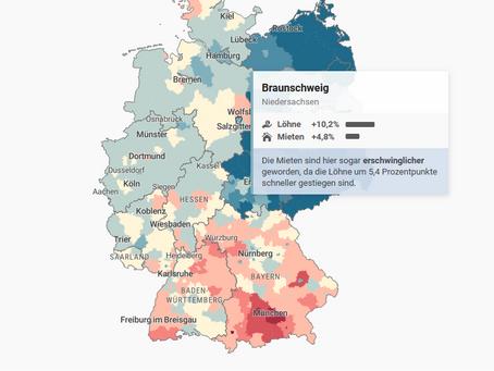 Kann man sich die Mieten in Braunschweig noch leisten?