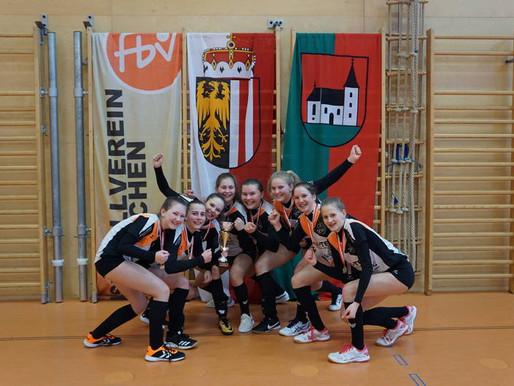 Arnreits U16 ohne Satzverlust Landesmeister