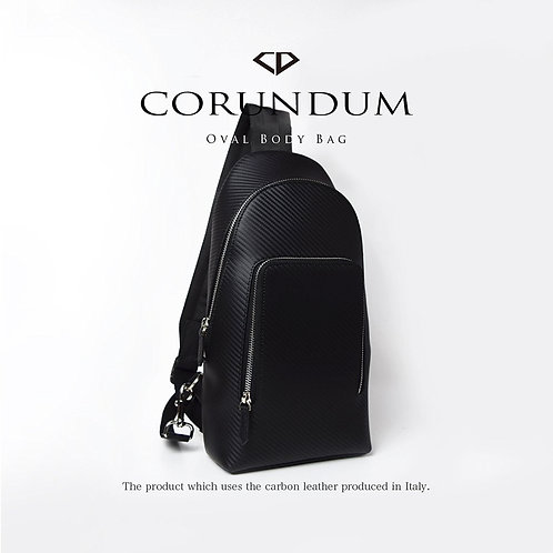 Oval Body Bag:Carbon