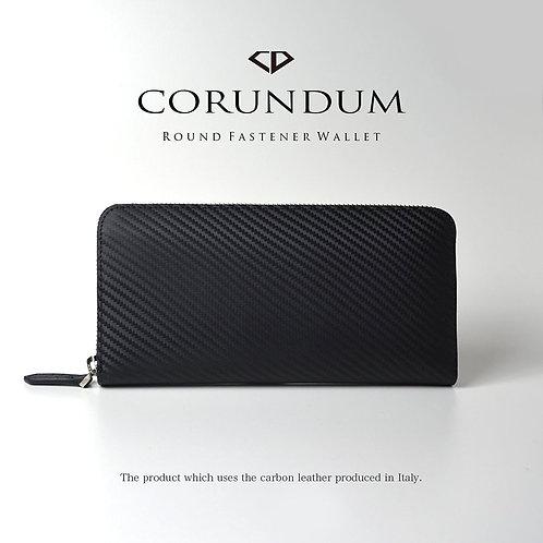 Round Wallet:Carbon