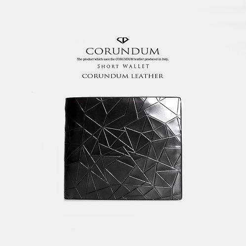 Short Wallet:CORUNDUM LEATHER