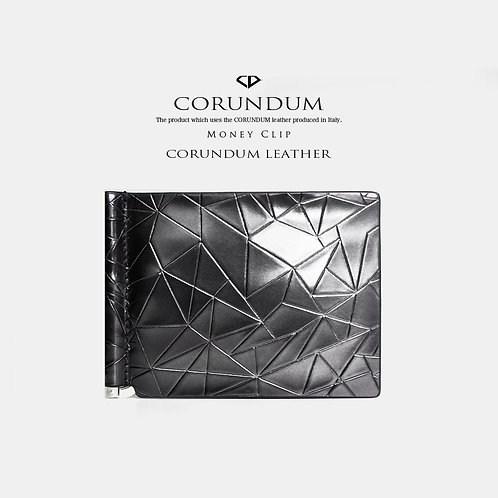 Money Clip:CORUNDUM LEATHER