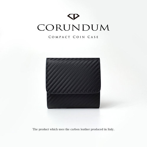 Compact Coin Case:Carbon