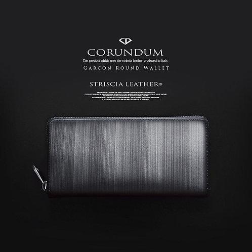 Carcon Round Wallet:Striscia