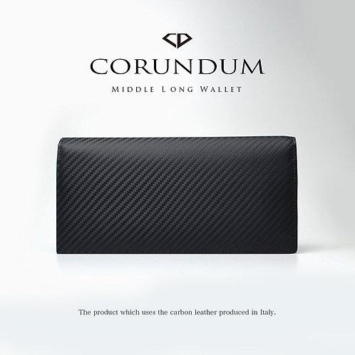 Middle Long Wallet:Carbon