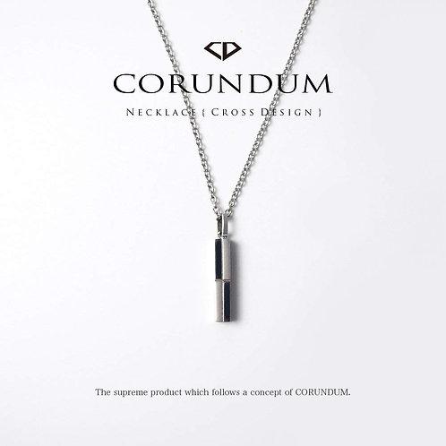 Necklace : Cross Line