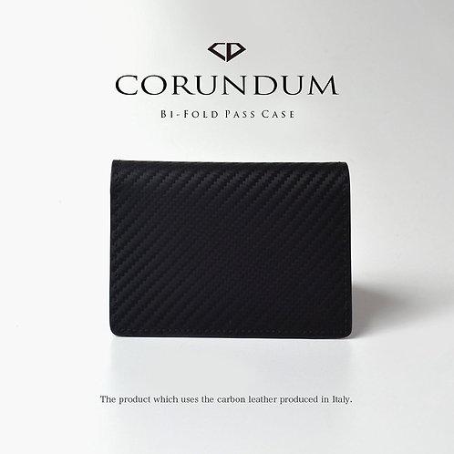 Bi-Fold Pass Case:Carbon