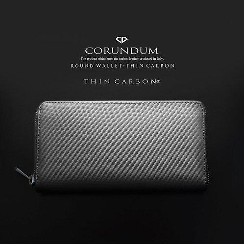Round Wallet:Thin Carbon