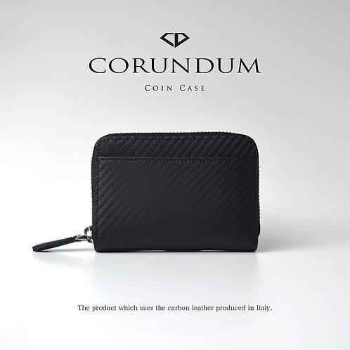 Round Coin Case:Carbon