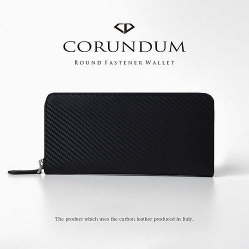 Smart Round Wallet:Carbon
