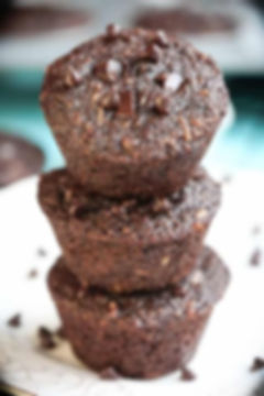 Flourless-Skinny-Double-Chocolate-Muffin