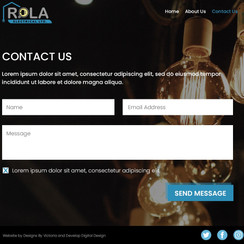 Rola Contact (In Progress)