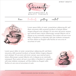 Serenity Treatments Page