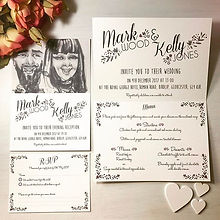 #caricature #caricatureweddinginvitation #weddingstationer #weddingstationary #designsbyvictoriawage