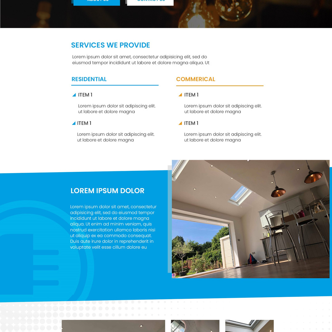 Rola Homepage (In Progress)