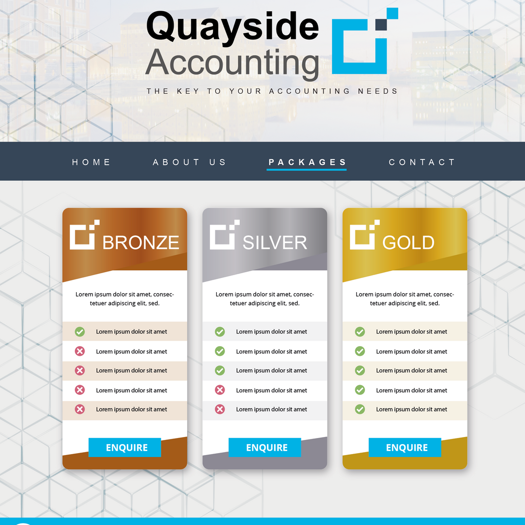Quayside Packages