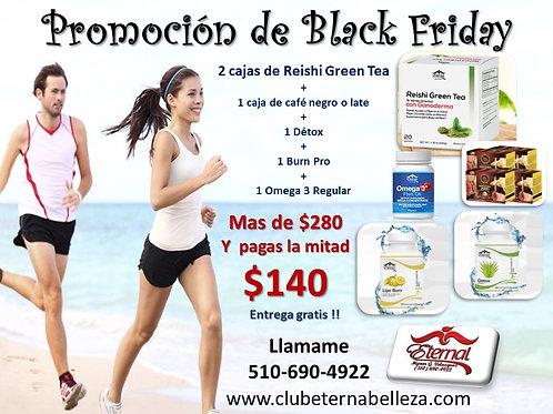 Kit Reductor de Peso con Reishi Green Tea