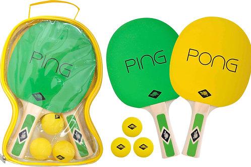 Q3-18089 Schildkröt Ping Pong Set