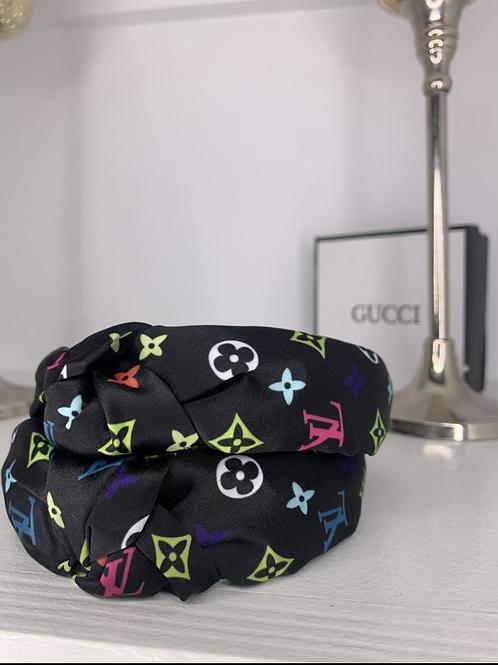 Multi-colored LV Style headband