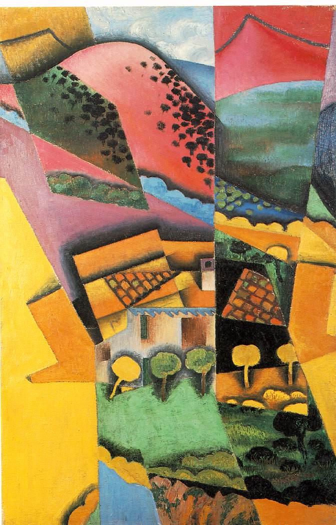 Juan Gris - Landscape al Ceret