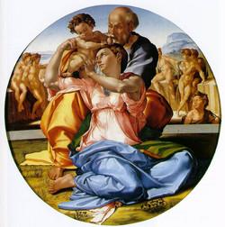 Michelángelo - La Sagrada Familia