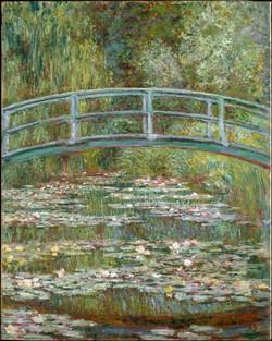 Claude Monet - Bridge Over a Pond of water lilies