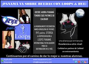Buenas Noticias: Loops representante de patines RYE en Panamá!