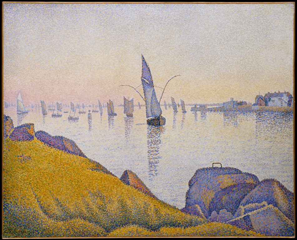 Paul Signac - Evening Calm