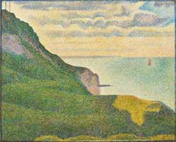 George Seurat - Seascape at Port en Bessin