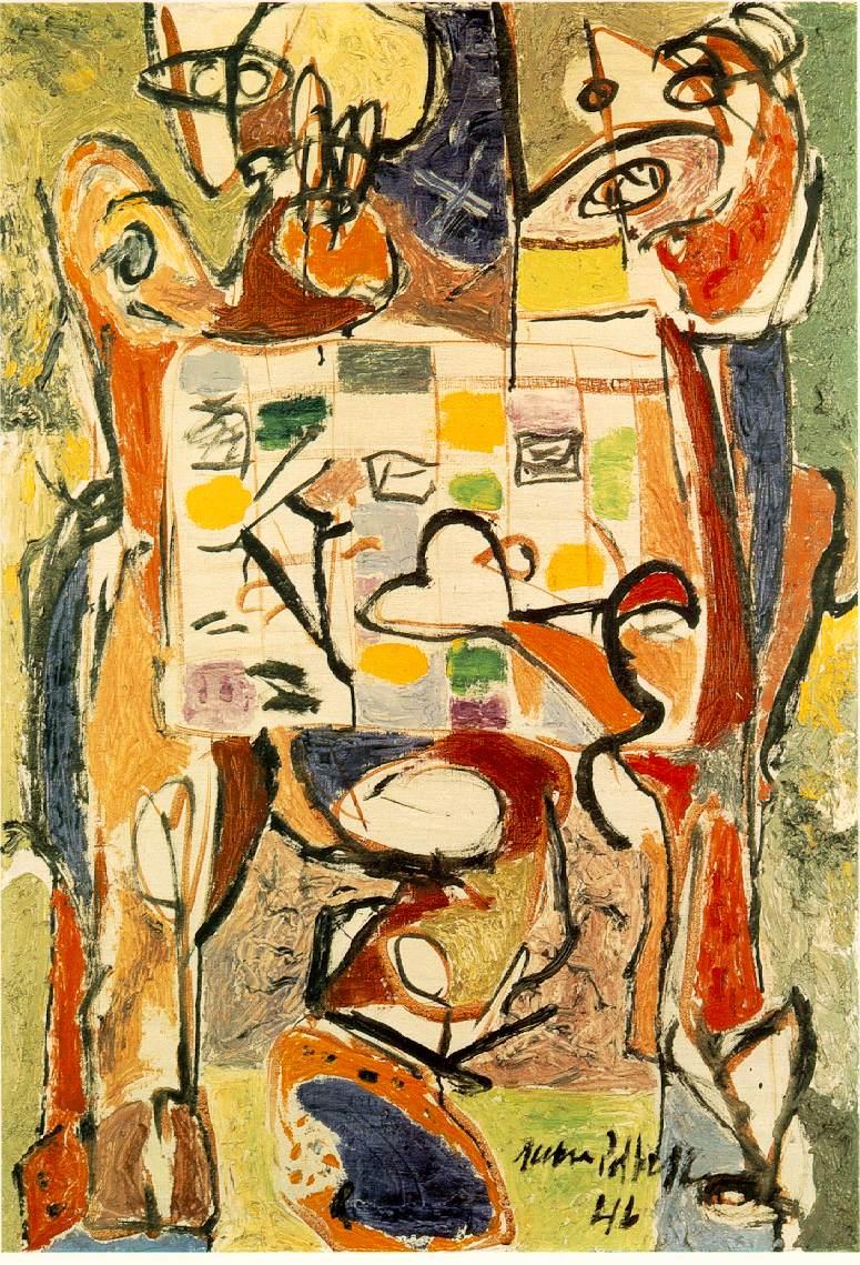 Jackson Pollock - The Tea Cup - Expresionismo Abstracto